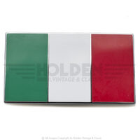 Italy Adhesive Badge