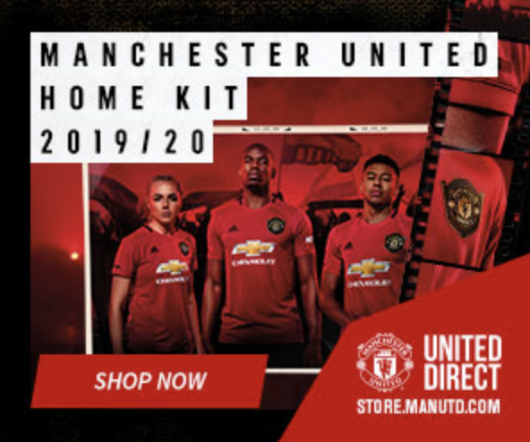 Manchester United 10 % Off Your Order