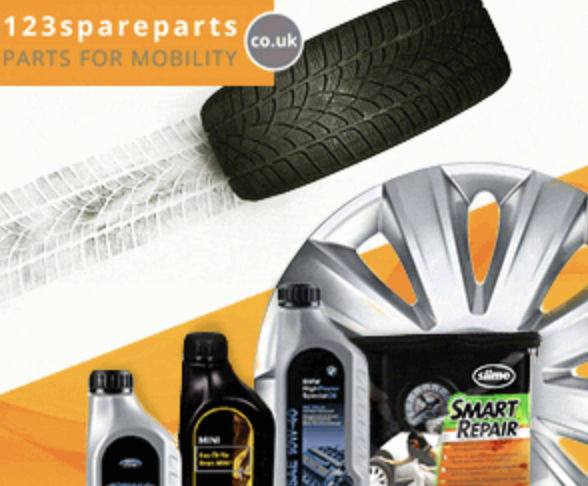 Up to 5% Off at 123 Spare Parts
