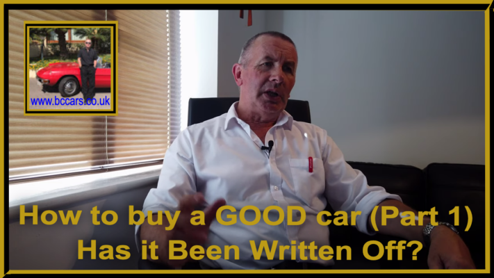 How to buy a good car (part 1) has it been written off?